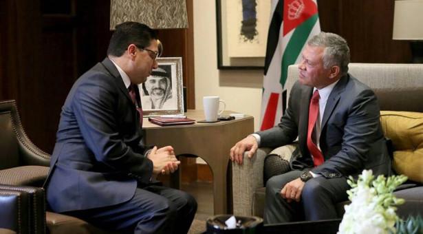 ناصر بوريطة ينقل رسالة شفوية من الملك محمد السادس إلى العاهل الأرني