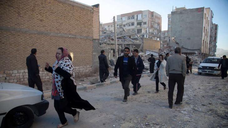 زلزال يهز مناطق في غرب ايران على الحدود مع العراق