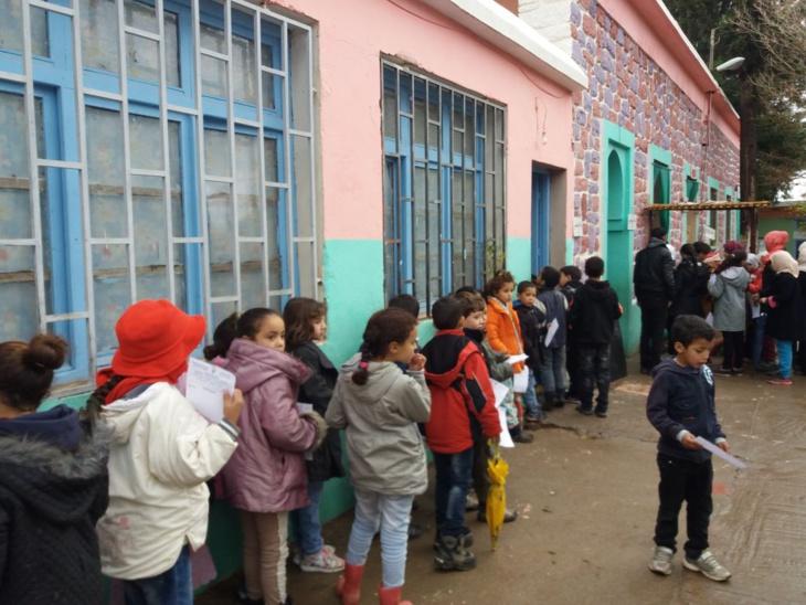 1500 تلميذ يستفيدون من فحص طبي مجاني بجماعة اوريكة ضواحي مراكش + صور