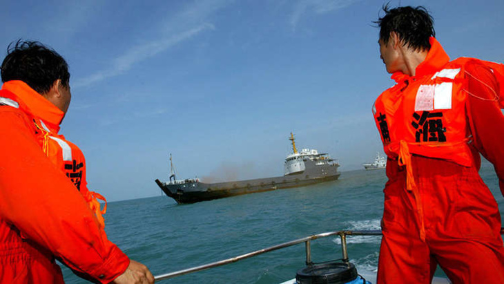 فقدان 32 شخصا اثر اصطدام سفينتين قرب الساحل الشرقي للصين