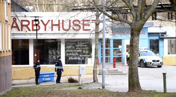 إصابة شخصين في انفجار خارج محطة لمترو الأنفاق بستوكهولم