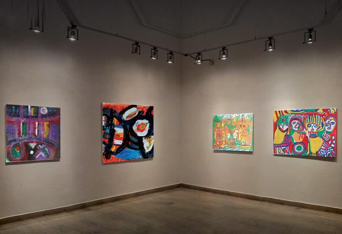 عرض 74 لوحة للفنان التشكيلي الراحل