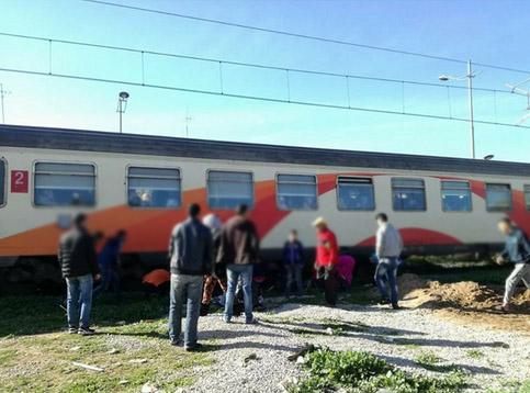 صادم: قطار يدهس فتاة عشرينية بمراكش