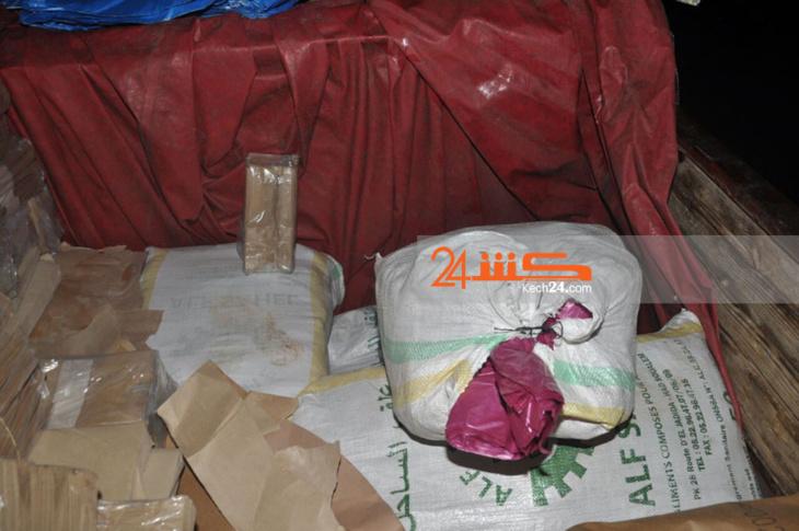 بالصور: هذه كمية الأكياس البلاستيكية المحظورة التي حجزتها مصالح الجمارك بمراكش