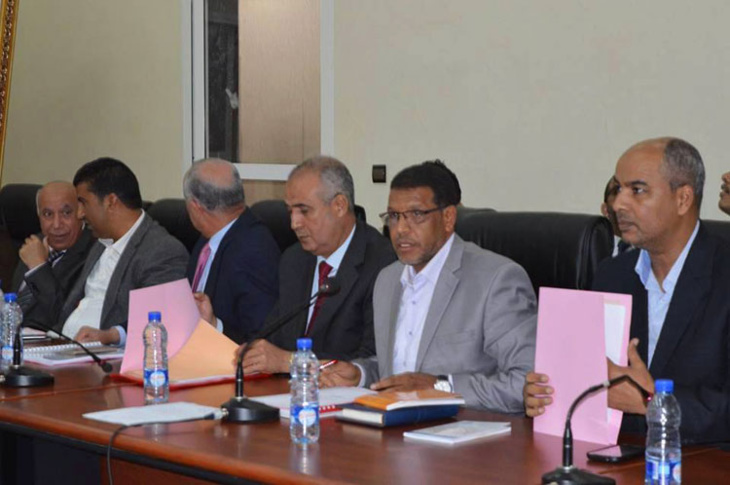 قضاة المجلس الجهوي للحسابات بمراكش يفتحصون ميزانية مجلس مدينة آسفي