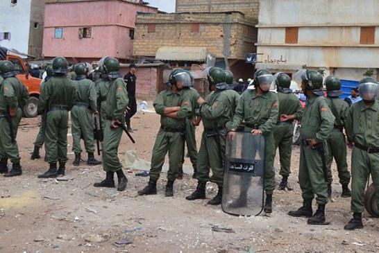 السلطات تلجأ للقوة لتفريق محتجين وتعتقل 11 منهم بورش لإنجاز سد بإقليم تنغير