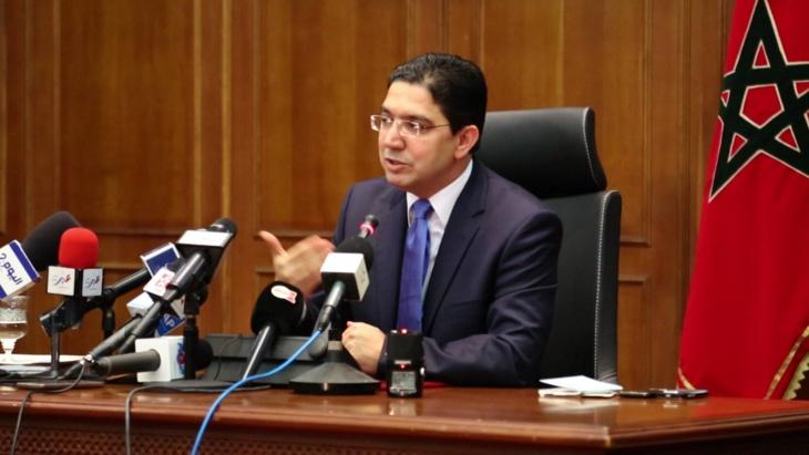 ناصر بوريطة يجدد التأكيد على تضامن المغرب الدائم مع الشعب الفلسطيني