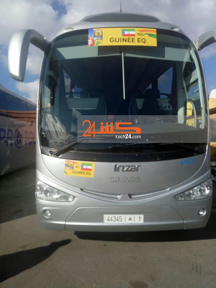 بالصور: هذه هي الحافلات التي ستنقل المنتخبات الإفريقية المشاركة في بطولة