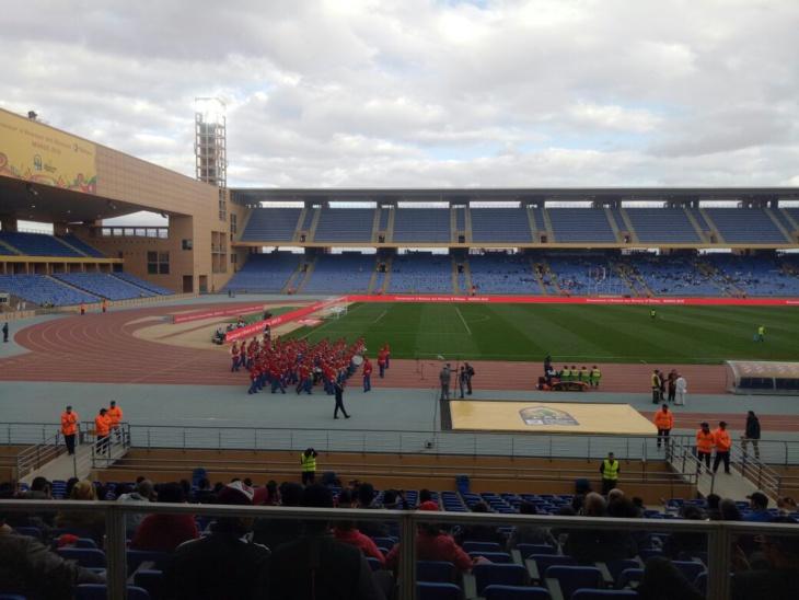 ملعب مراكش يستضيف اولى مباريات المجموعة الثانية في شان 2018