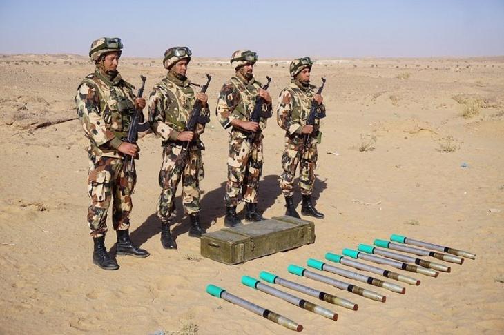 اكتشاف صواريخ مضادة للأفراد بأقصى جنوب الجزائر