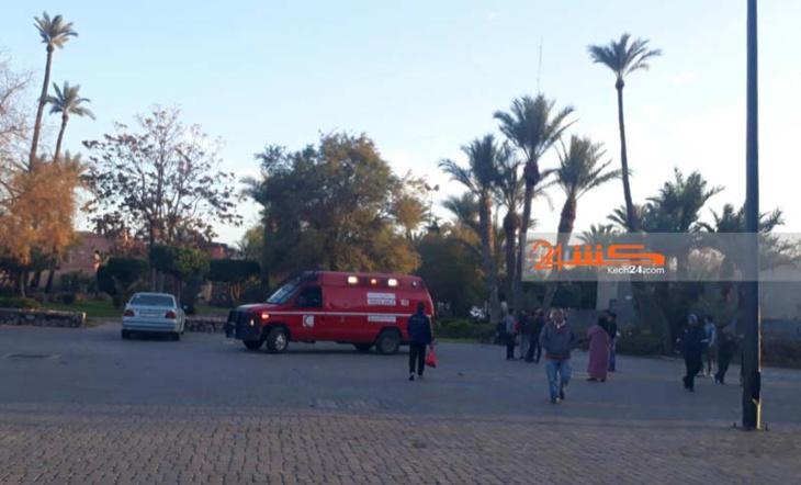 بقايا عمود كهربائي ترسل طفلا لمستعجلات مستشفى ابن طفيل بمراكش
