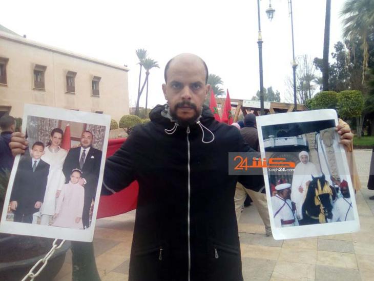 بعد 16 عاما من الصمت.. تجار سوق الإزدهار بباب دكالة يحتجون أمام بلدية مراكش + صور
