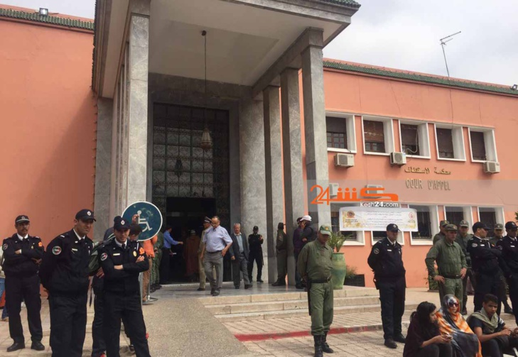 متابعة سائق حافلة بمراكش بتهمة التزوير في وثائق رسمية في حالة إعتقال