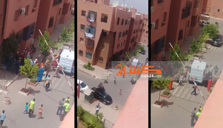 عاجل: سقوط مهاجرة إفريقية عارية من الطابق الرابع لعمارة سكنية بمراكش
