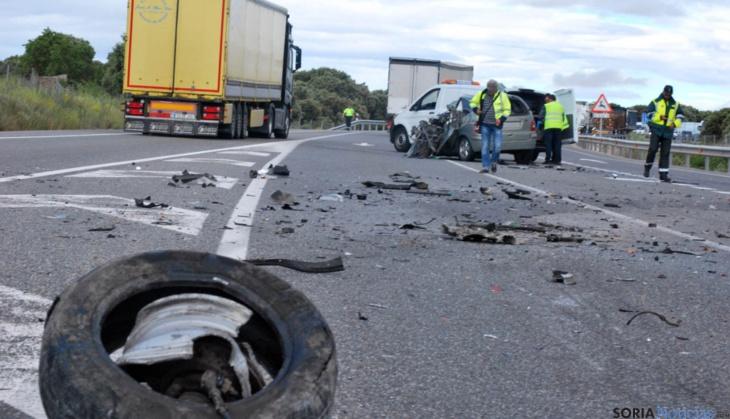مقتل مغربي في حادثة سير مروعة بإسبانيا