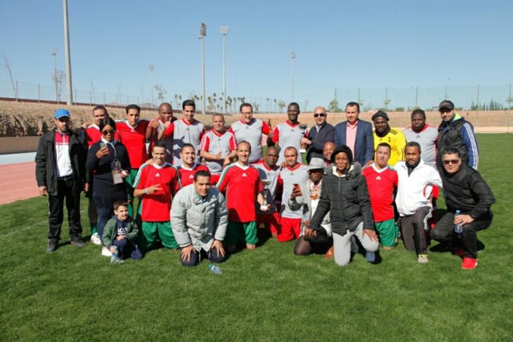 مباراة ودية بمراكش تجمع صحافيين مغاربة ونظرائهم الأفارقة على هامش منافسات