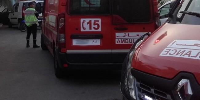 إصابة 22 شخصا في حادث انقلاب حافلة للنقل المزدوج بالصويرة