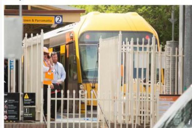 إصابة 16 شخصا في حادث قطار بسيدني