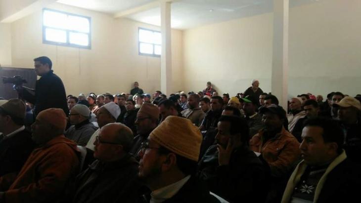 انعقاد لقاء تواصلي بين الجماعة الترابية تغدوين باقليم الحوز والمجتمع المدني+ صور