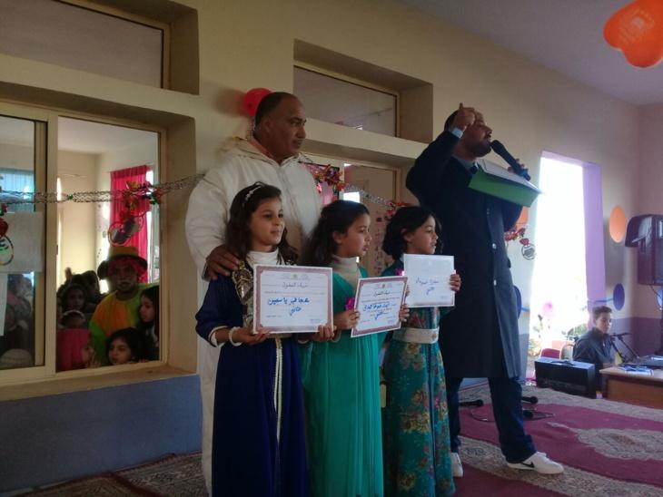 مدرسة دار السلام الإبتدائية بمراكش تحتفي بالتلاميذ المتفوقين + صور