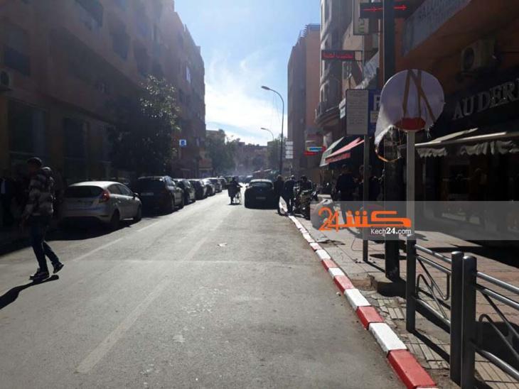 بالصور.. المجلس الجماعي بمراكش يٌعقِّد مهمة التنقل بين شوارع وأزقة جيليز