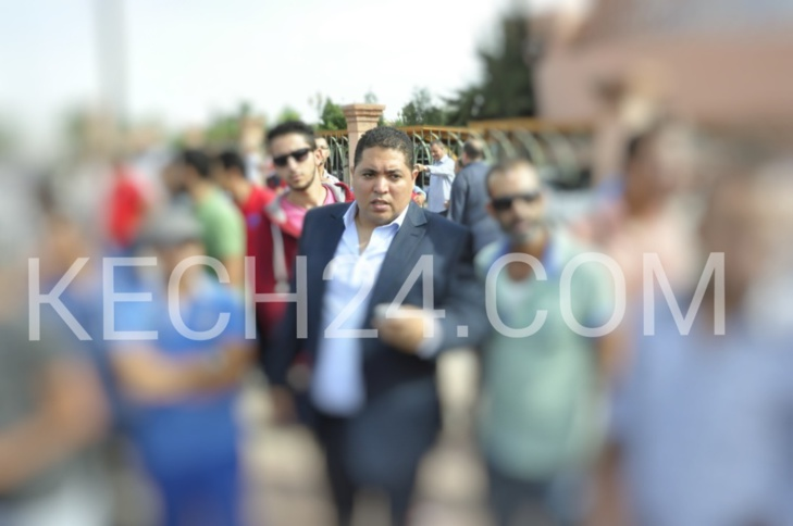 لمغاري رئيس مقاطعة سيدي يوسف بن علي بمراكش يتفقد أوراش مقاطعته