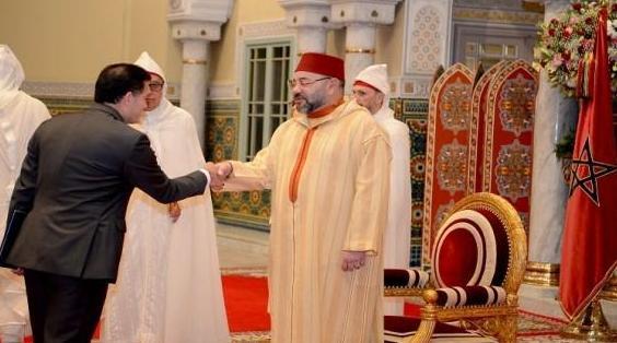 الملك محمد السادس يستقبل عددا من السفراء الأجانب