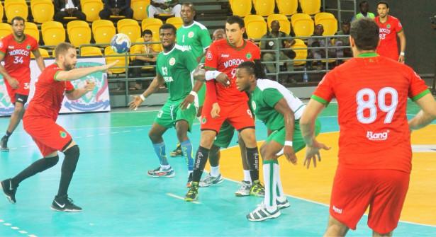 المغرب يفوز على الغابون ويتأهل لنصف نهائي بطولة إفريقيا لكرة اليد