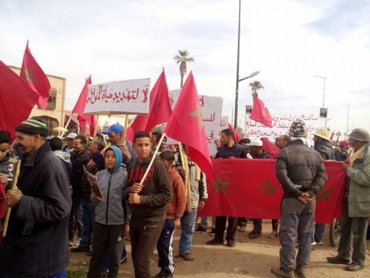 رفاق الهايج يحملون السلطات مسؤولية عواقب تشريد ساكنة دوارين بالشويطر نواحي مراكش