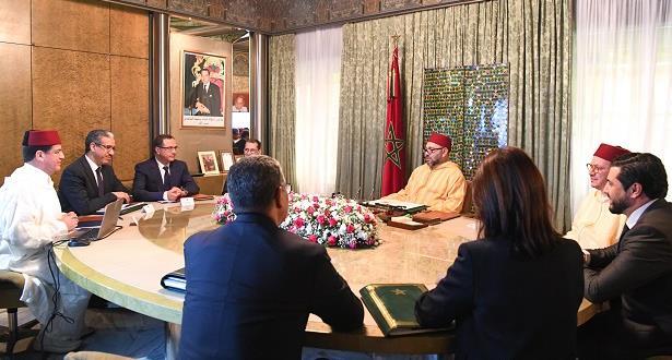 الملك محمد السادس يترأس جلسة عمل حول الاستراتيجية الطاقية الوطنية والطاقات المتجددة