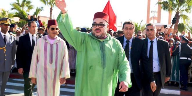 الملك محمد السادس يحل بأكادير واستنفار أمني لتأمين الزيارة