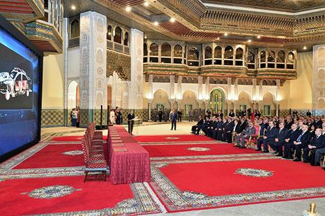الملك محمد السادس يترأس حفل إطلاق التنزيل الجهوي لمخطط التسريع الصناعي بأكادير