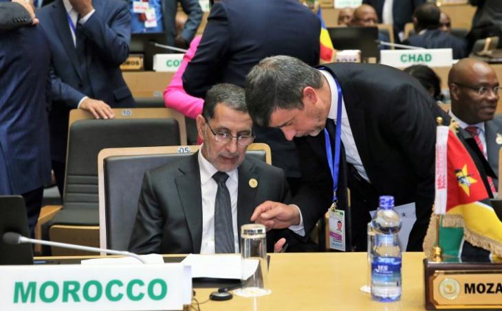 العثماني يكشف من اديس ابابا عن اهداف المغرب خلال المشاركة في قمة الاتحاد الافريقي