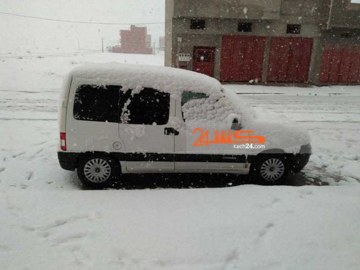 عاجل: الثلوج تقطع الطريق بين مدينتي ورزازات وزاكورة