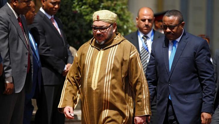 الملك محمد السادس يوجه رسالة إلى الدورة العادية الـ30 لقمة الاتحاد الإفريقي
