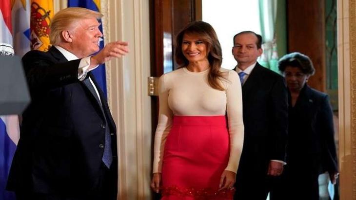 هكذا تنظر ميلانيا ترامب إلى الفضائح الجنسية المثارة حول زوجها