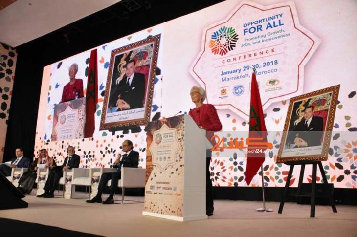 مديرة صندوق النقد تدعو من مراكش دول الشرق الأوسط لتوسعة القواعد الضريبية