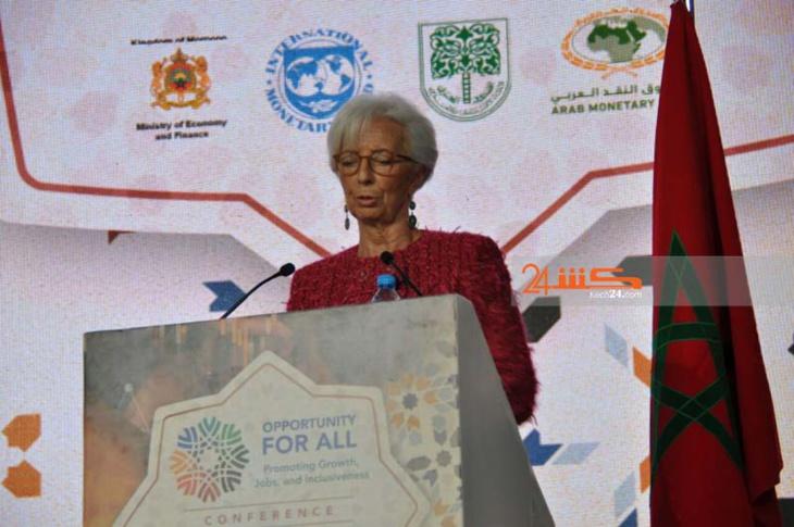 كريستين لاغارد تعلق في مراكش على اعتماد المغرب لنظام سعر الصرف المرن