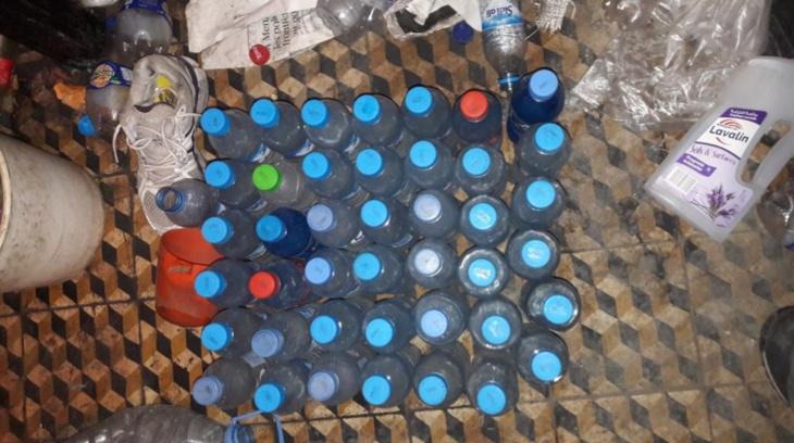 حجز كميات مهمة من مسكر ماء الحياة من طرف أمن مراكش + صور