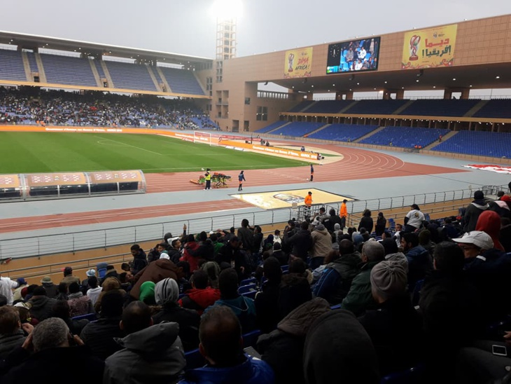 ملعب مراكش يحتضن مباراة نصف نهائي الشان بين السودان ونيجيريا