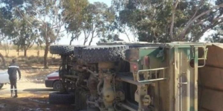 مصرع جنديين مغربيين في انقلاب شاحنة عسكرية وإصابة آخرين بجروح بليغة