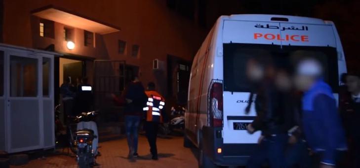 اعتقال أفراد عصابة روعت تجار مقاطعة المنارة بمراكش