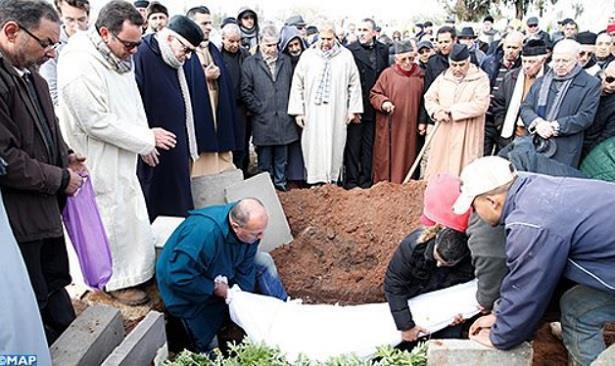 جثمان عبد الجليل فنجيرو المدير العام الأسبق لوكالة المغرب العربي للأنباء يوارى الثرى