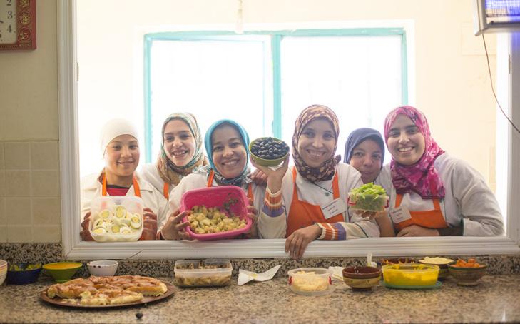 جمعية بمراكش تفتح باب الحياة لتكوين النساء المحتاجات في مهن الطبخ والمطعمة