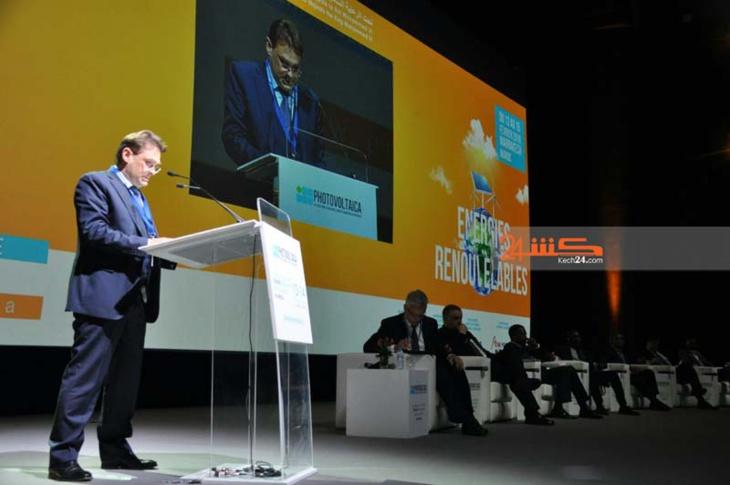 إنطلاق أشغال المؤتمر الدولي حول الطاقات المتجددة بمراكش + صور