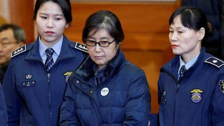 السجن 20 عاما للصديقة المقربة من رئيسة كوريا الجنوبية السابقة