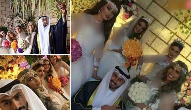 زواج سعودي من 4 مغربيات يثير الجدل على