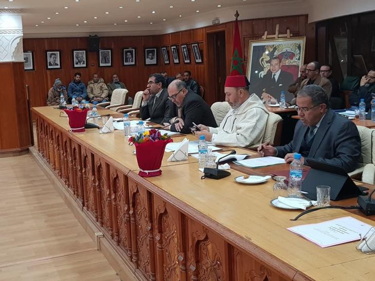 انطلاق أشغال الجلسة الثانية لدورة فبراير للمجلس الجماعي لمراكش