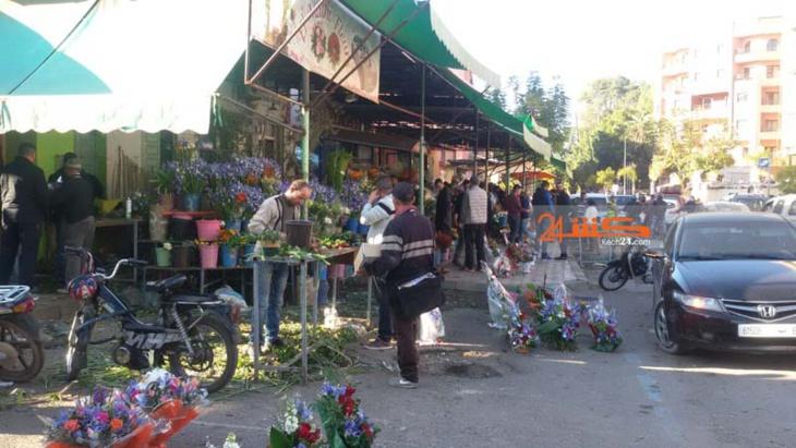 بمناسبة عيد الحب .. أثمنة الورود تحلق عاليا بمراكش + صور
