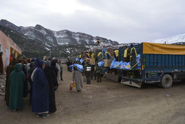 وزارة الداخلية تكشف حصيلة تدخلاتها لمساعدة ساكنة المناطق المتضررة من موجة البرد